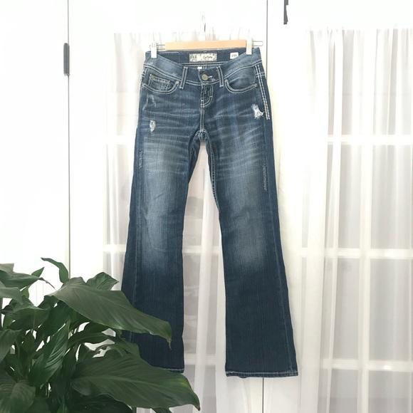 BKE Bootcut Lowrise Jeans Sz 25